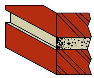 Recessed Brick Pointing