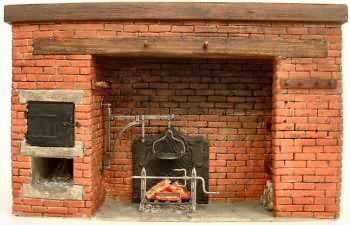 Brickwork historic development and repair for Tudor fireplaces