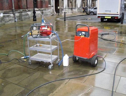 Doff Cleaning – Super Heated Steam Cleaning