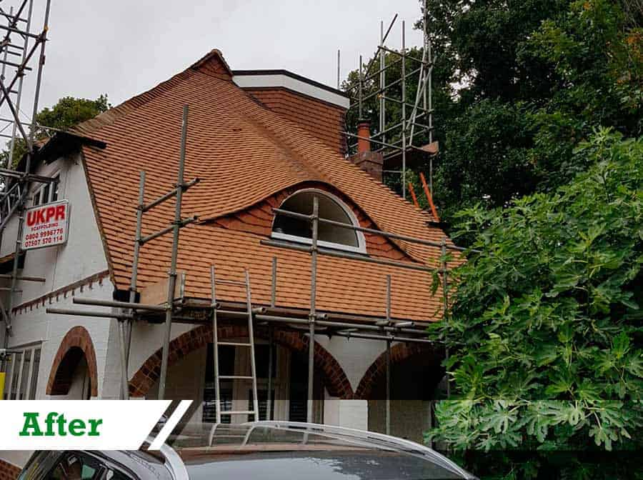 Roof Cleaning in Sutton SM1