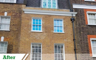 Buckingham Palace SW1A Brick Cleaning and Repointing Portfolio Feature