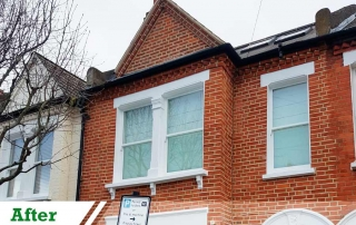 paint removal from brickwork and brick repointing